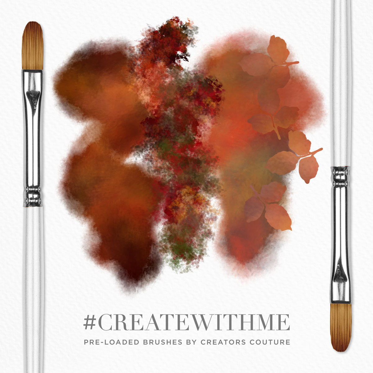 Fall Feelings #CreateWithMe: Pre-loaded Brushes + IGTV Tutorial