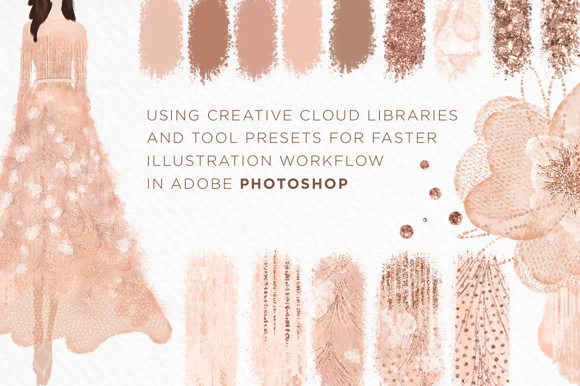 How I use Creative Cloud Libraries and Tool Presets for Faster Illustration in Photoshop