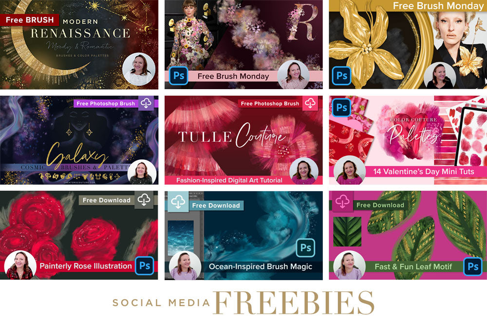 Social Media Freebies by Creators Couture