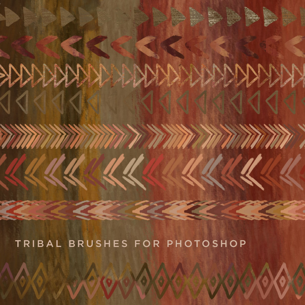 Hip Tribal Pattern Brushes for Photoshop