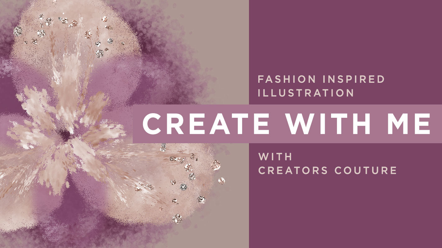 Photoshop Tutorial: Illustrate an Abstract Fashion Inspired Flower