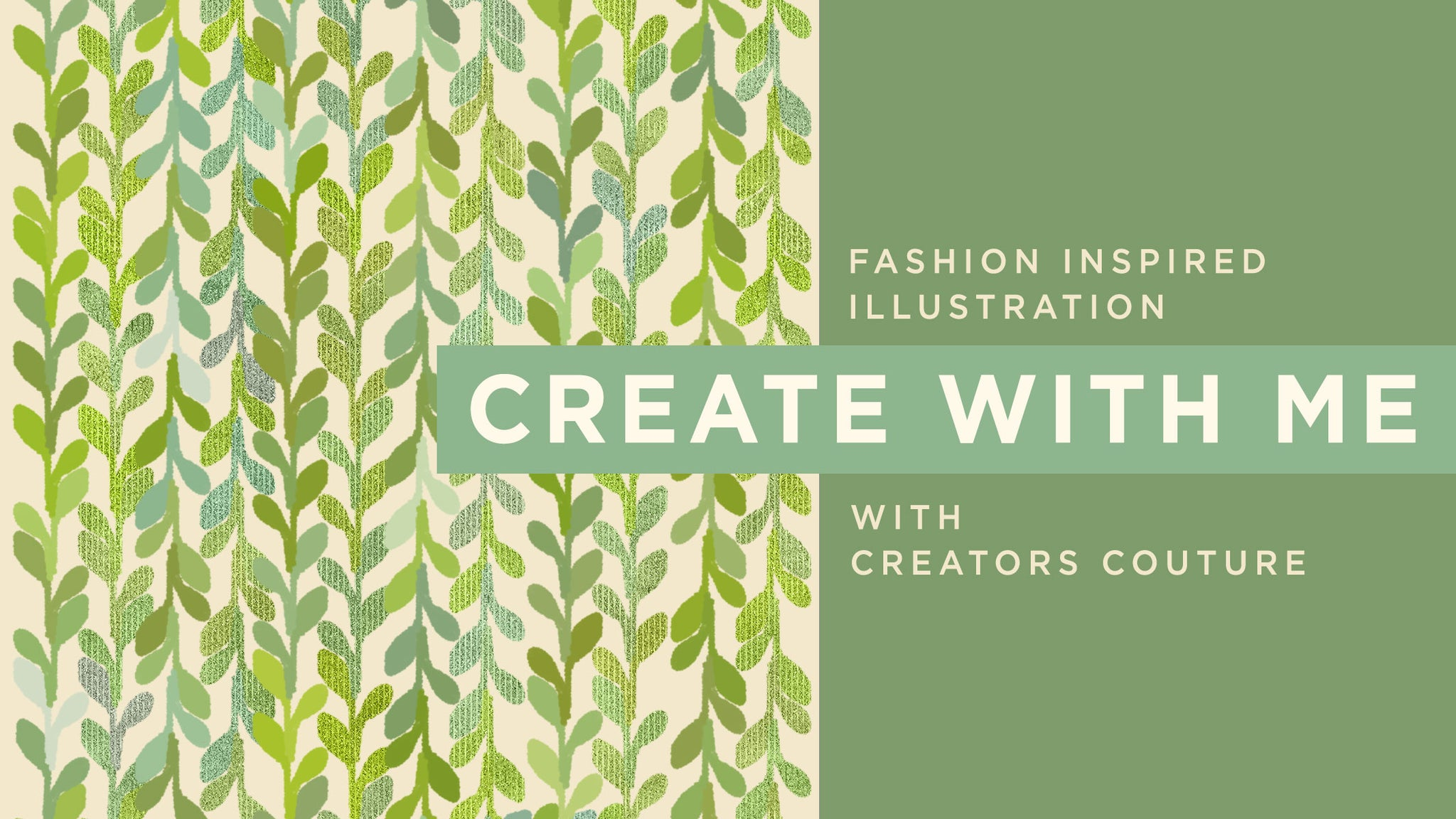 How to make an easy leaf background pattern in photoshop
