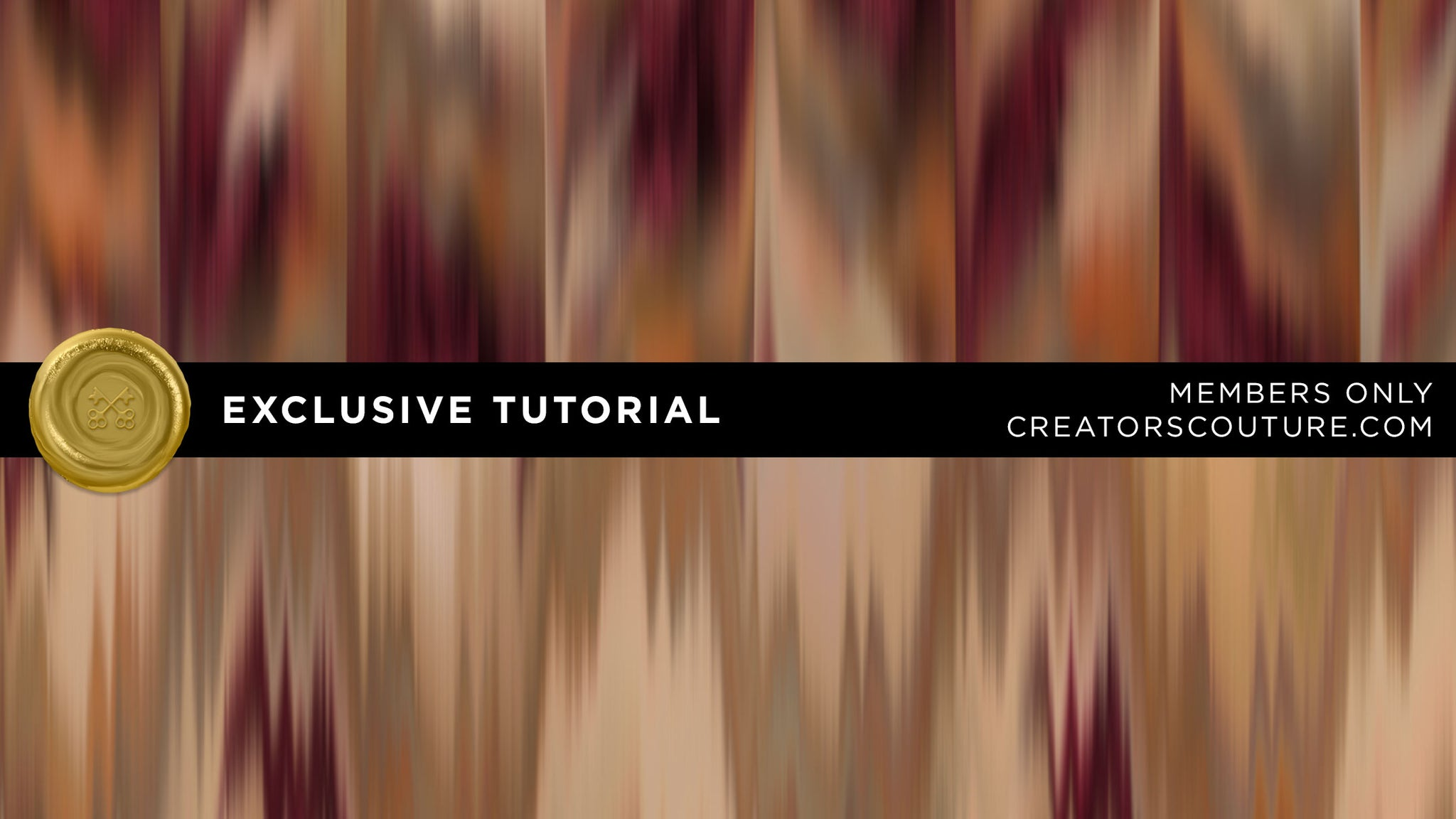 Exclusive Tutorial: Create Wet Painted Chevron Inspired Textures, Patterns and Backgrounds