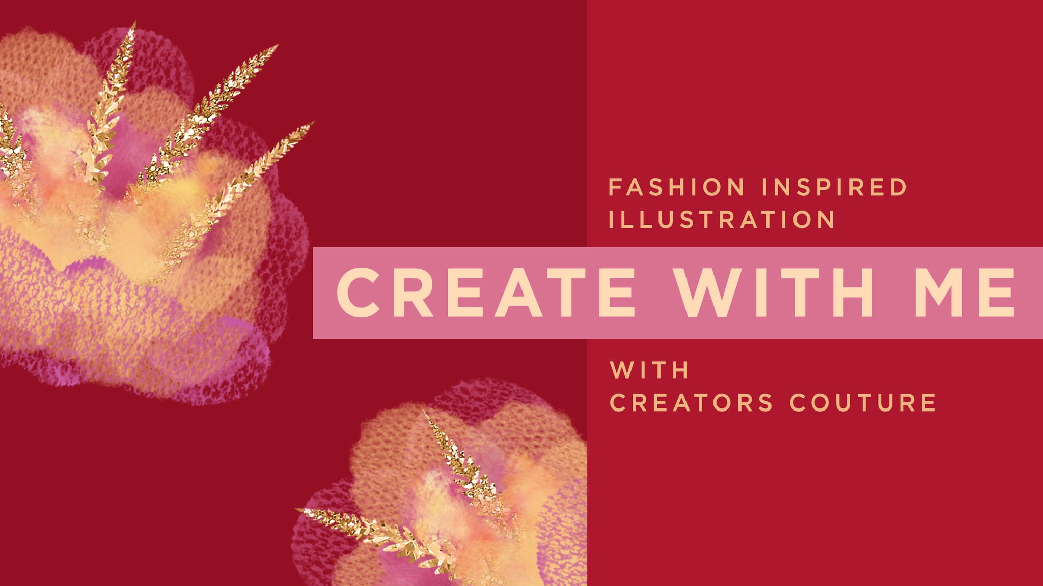 How to paint an abstract tulle / lace couture inspired flower in photoshop