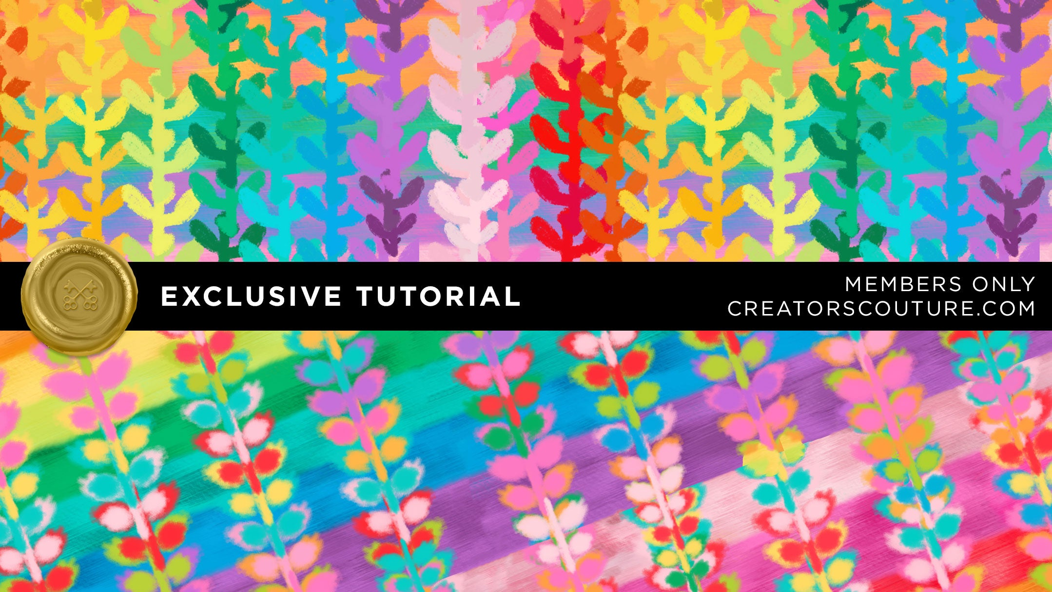 rainbow bright pattern tutorial