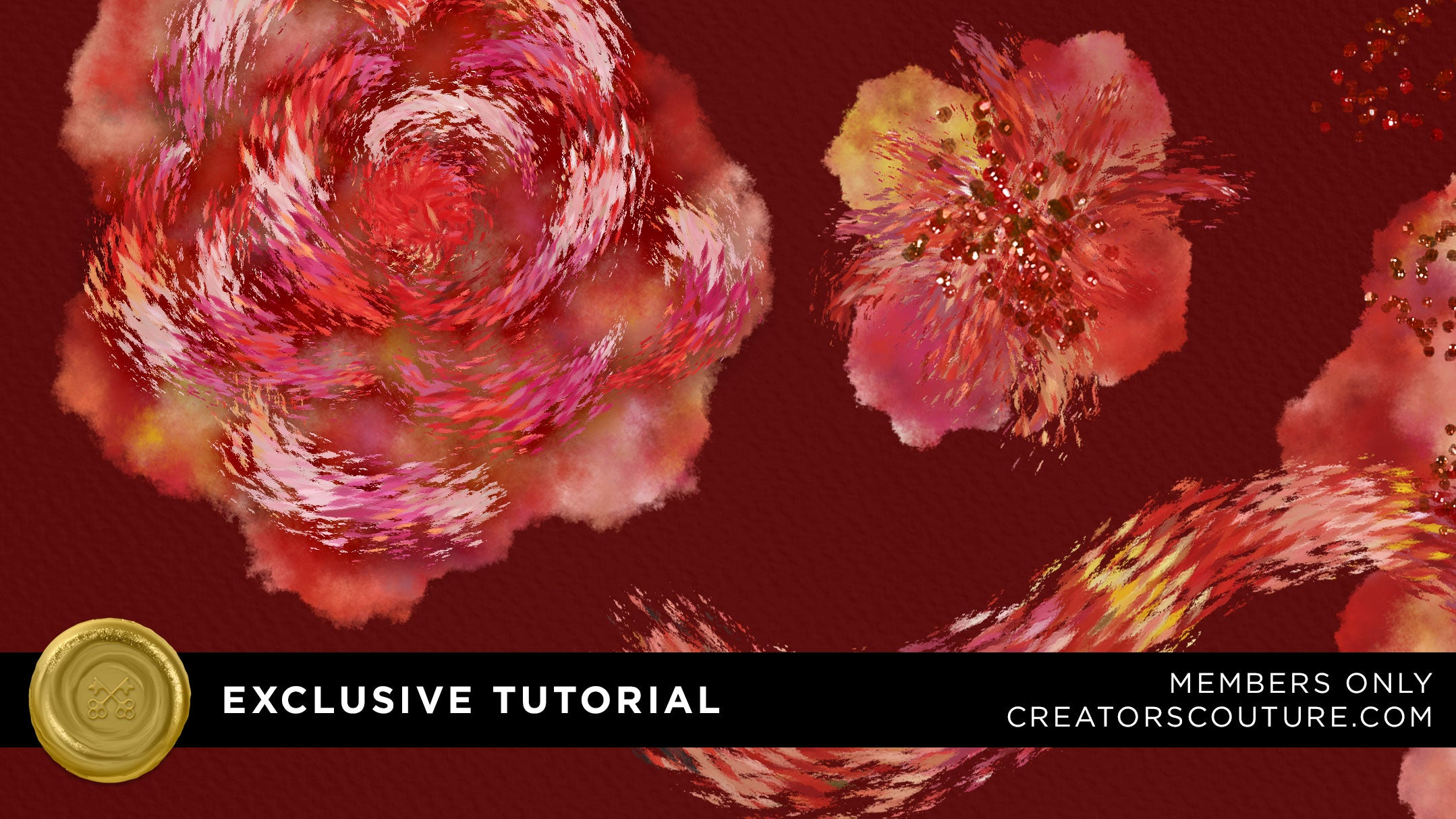exclusive tutorial illustrate april flowers