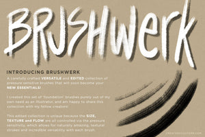 Brushwerk Your New Essential Fashion-Inspired Photoshop Brushes, pressure sensitivity demo