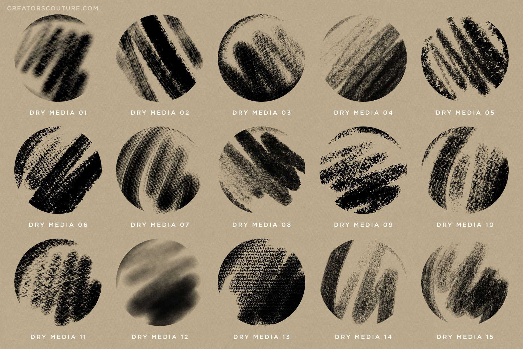 Brushwerk Your New Essential Fashion-Inspired Photoshop Brush preview sheet 1