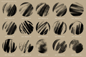 Brushwerk Your New Essential Fashion-Inspired Photoshop Brush preview sheet 3