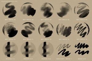Brushwerk Your New Essential Fashion-Inspired Photoshop Brush preview sheet 4