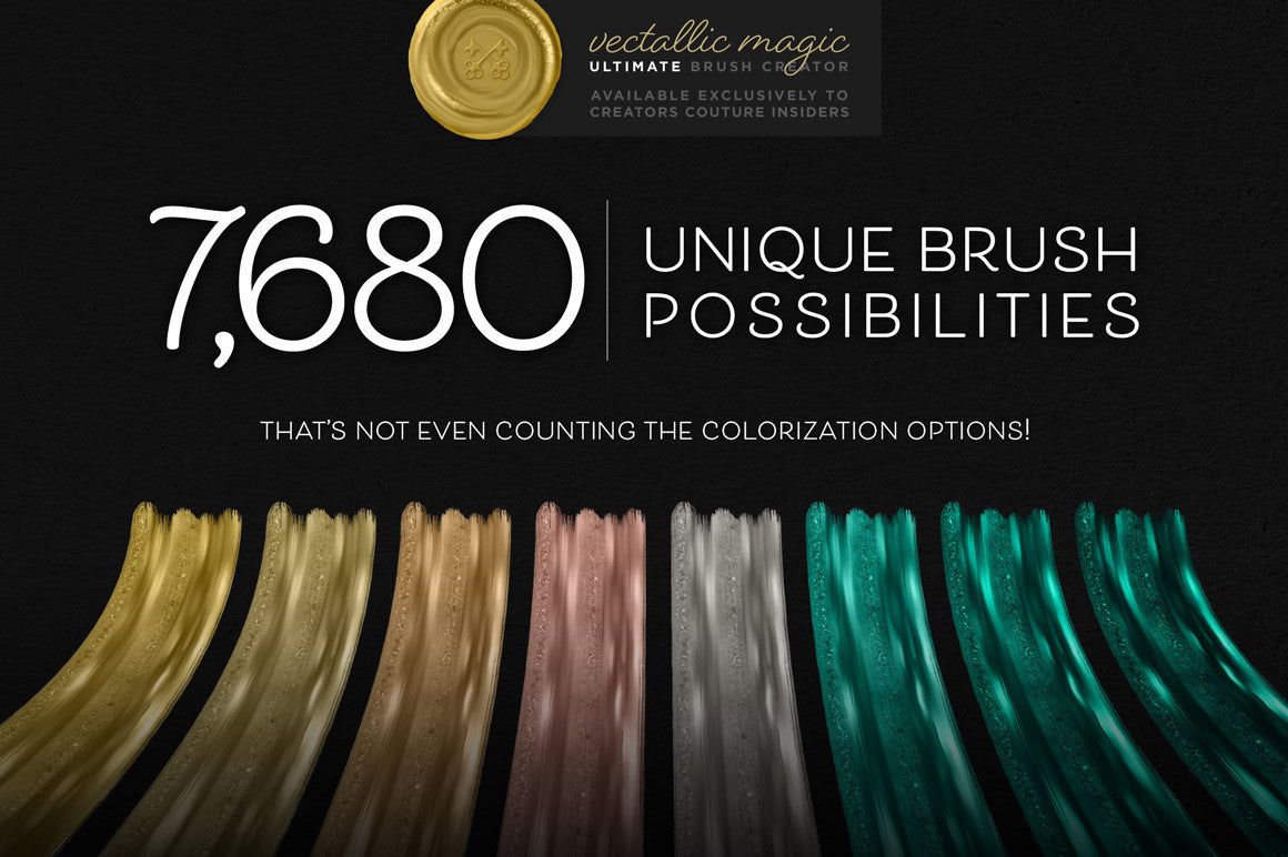 Vectallic Magic Ultimate Brush Creator - Creators Couture