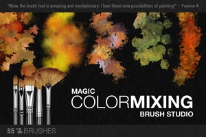 artistic color-blending photoshop brush demo 2