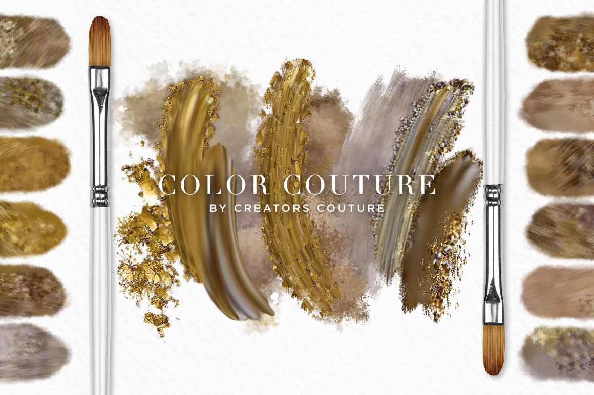 Color Couture Gilded Undergrowth Fashion Inspired Photoshop