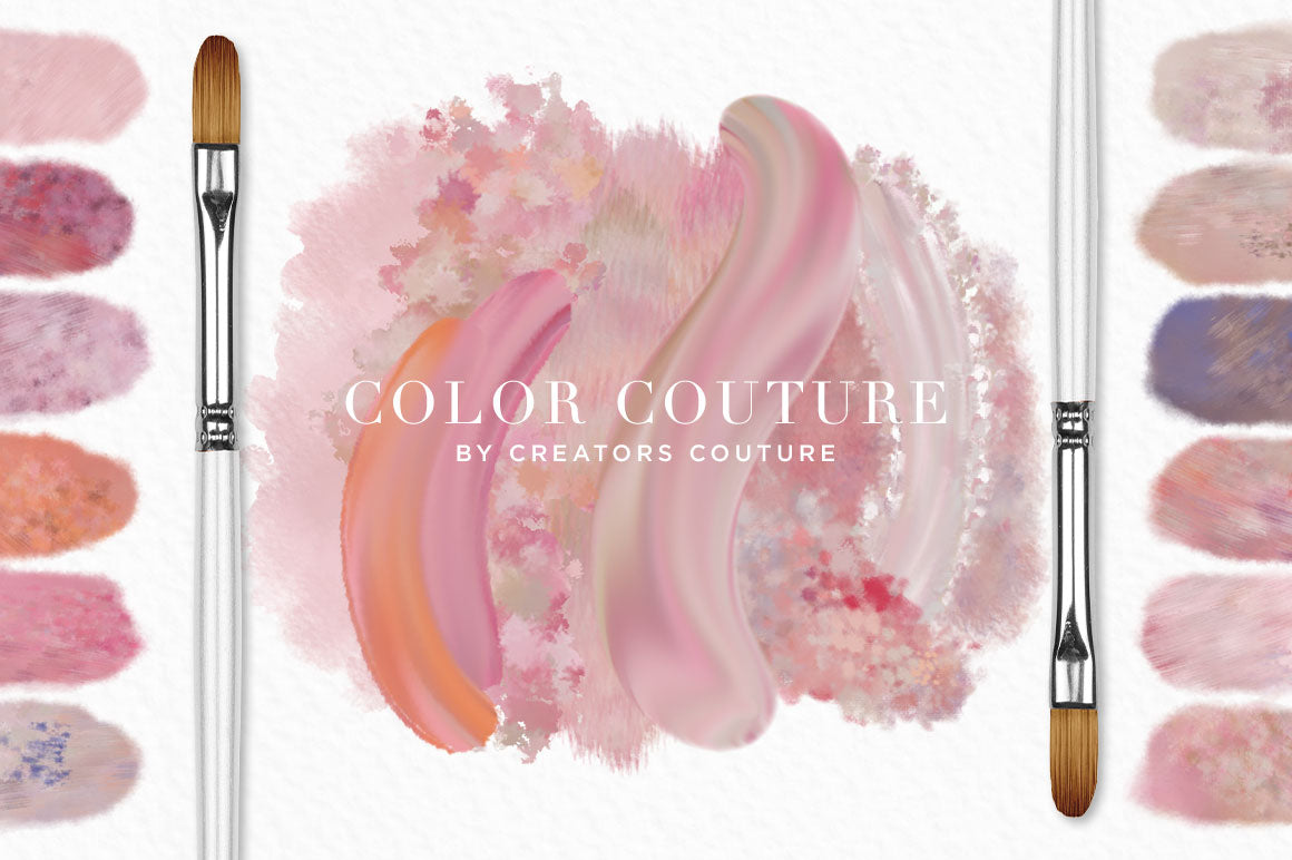 Color Couture Pastel Perfection Fashion Inspired Photoshop Brush