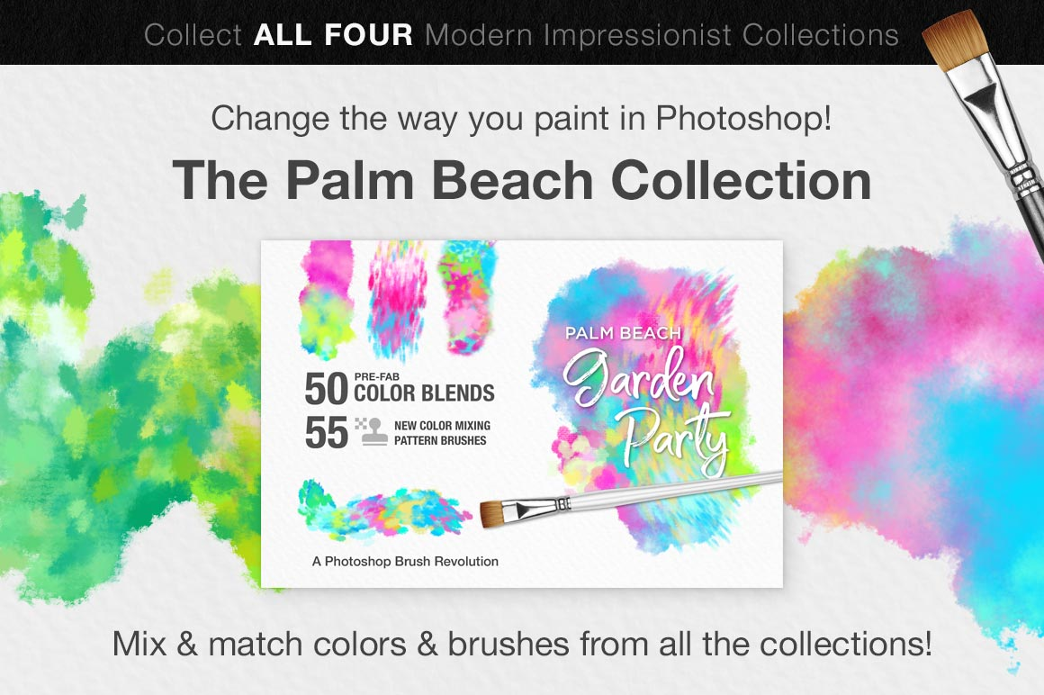 Colors of the Côte d'Azur Impressionist Photoshop Brush Color Palettes, sales image 4