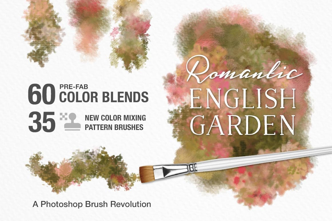 ALL The Brushes: The Complete Collection of Impressionist and Wet Paint Brushes for Adobe Photoshop | Save over 60% for a VERY LIMITED TIME - Creators Couture