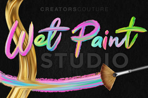 Wet Paint Photoshop Color-Blending Mixer Brushes cover image