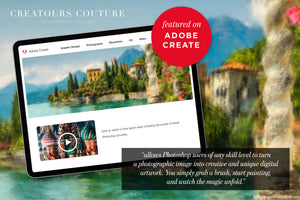 impressionist painting effect photoshop brush studio featured on Adobe image