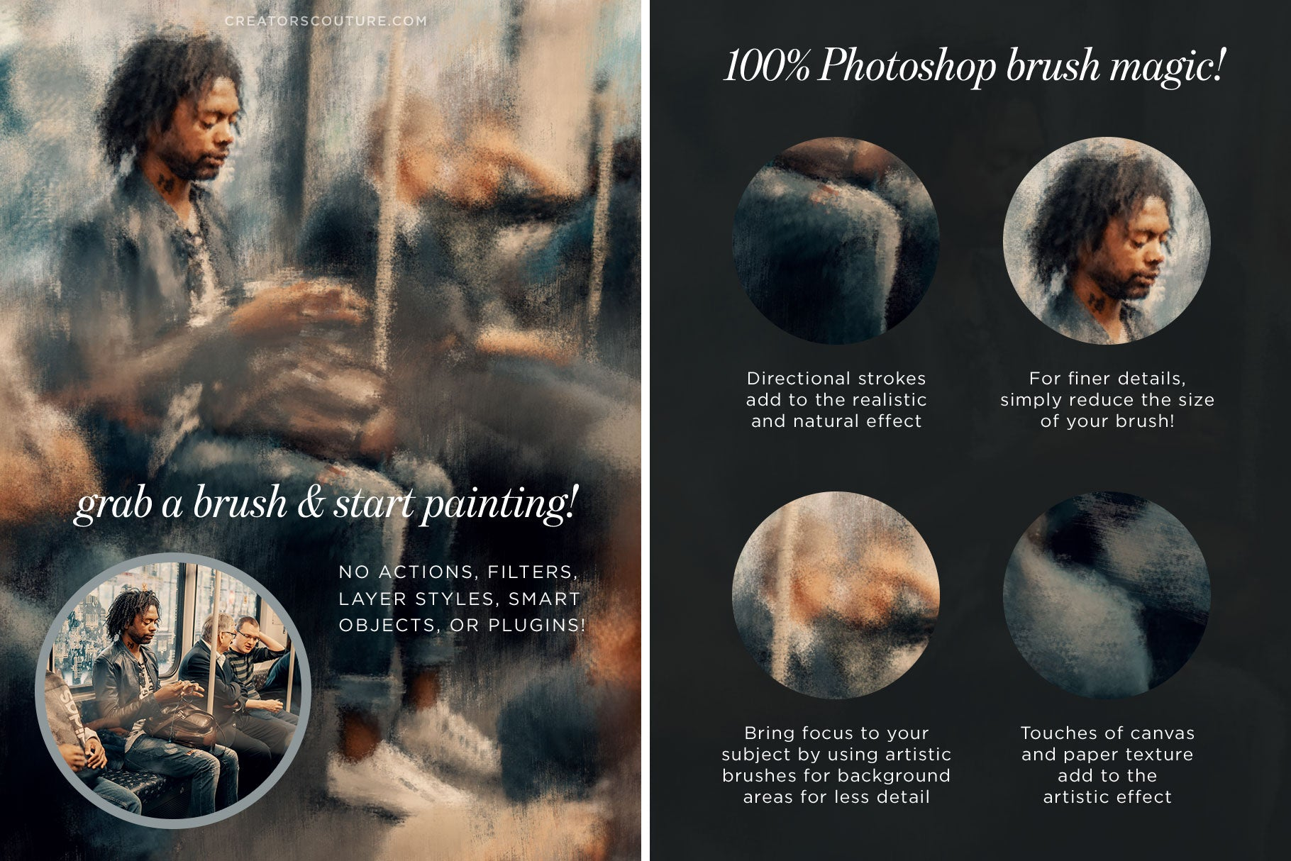 Instapressionist Photoshop Brush Magic: EARLY ACCESS PRICING ENDS SOON