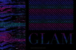 Glam Pop Couture-Inspired Glittery Digital Backgrounds/Textures, glam preview