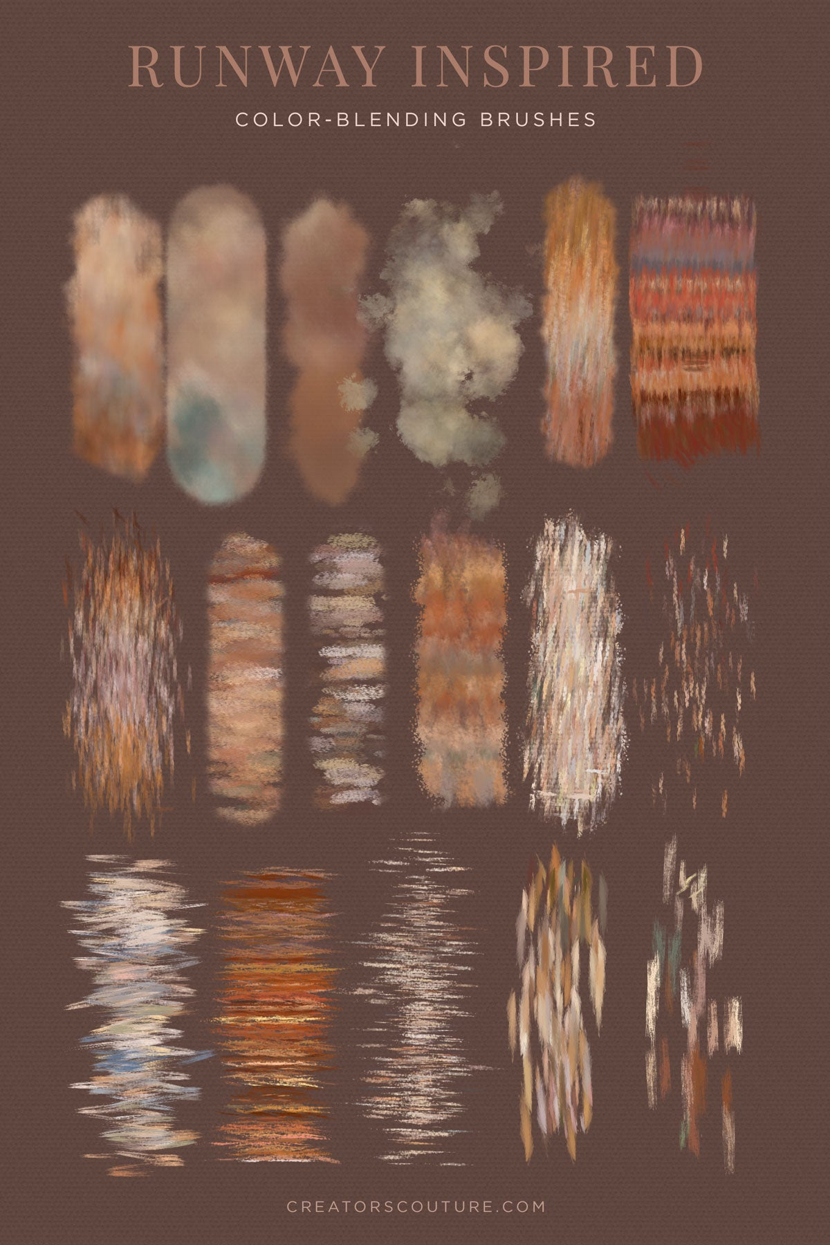 Fabric, Fiber, and Textile inspired Photoshop brushes