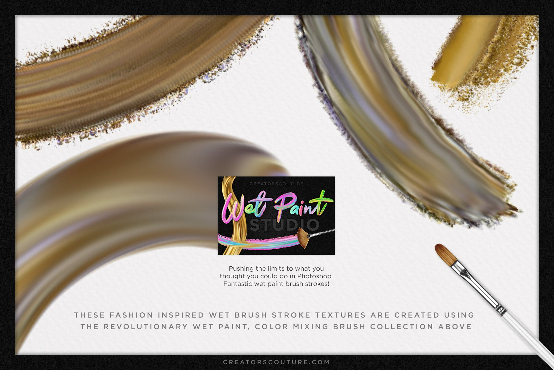 "Painted Perfection ""Gilded Undergrowth"" 