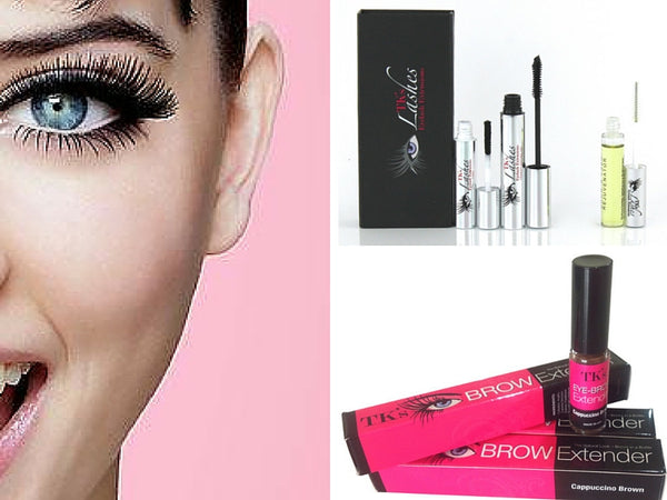 TK's fibre lashes and eyebrow extender