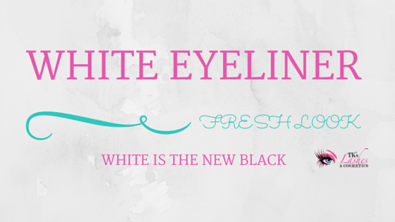White eyeliner pencil tips and tricks