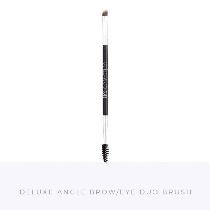 TK's Deluxe Angle Brow/Eye Liner Duo Brush - TK's Lashes