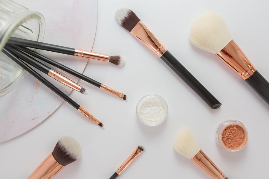 TK's Pro Brush 11 Piece Set - TK's Cosmetics