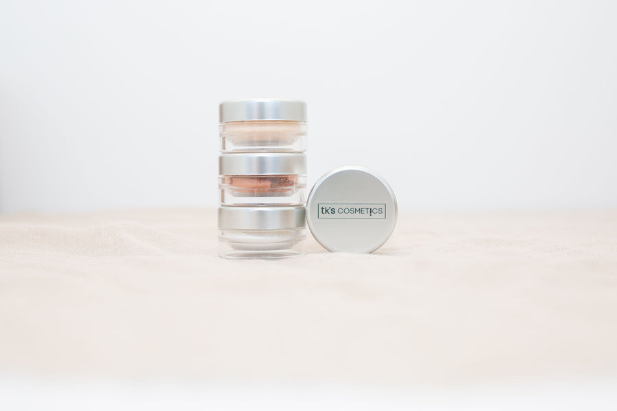 TK's Mineral Glimmer Shadow Powder - TK's Cosmetics