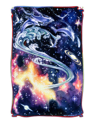 Celestial Dolphins / Surfing the universe