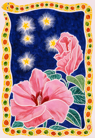 Desert Rose Starry Night