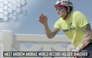 Meet Andrew Andras.  World Record Holder Smasher