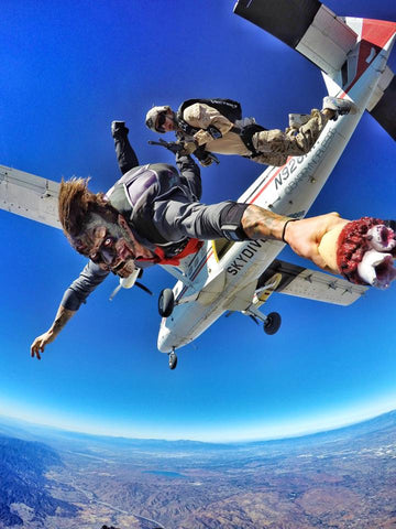 skydive, skydiving, skydiver, zombie skydive fail, barry nobles, bmx, adrenaline junkie, extreme sports, adrenaline activity, epic sports extreme adrenaline