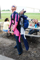 Female Skydiving Instructor, female skydiver, Jen Sharp, Female tandem instructor