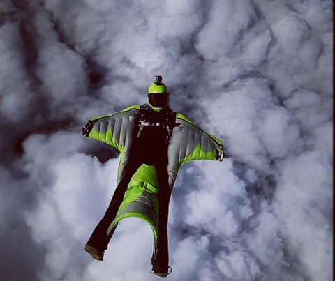Wingsuit, Jump, Squirrel Suit, Epic, Adrenaline sport