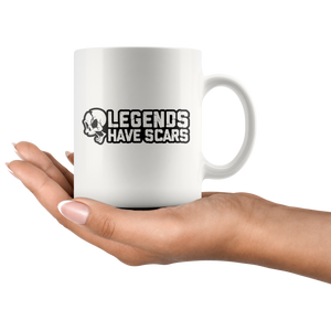 Legends Have Scars Mug