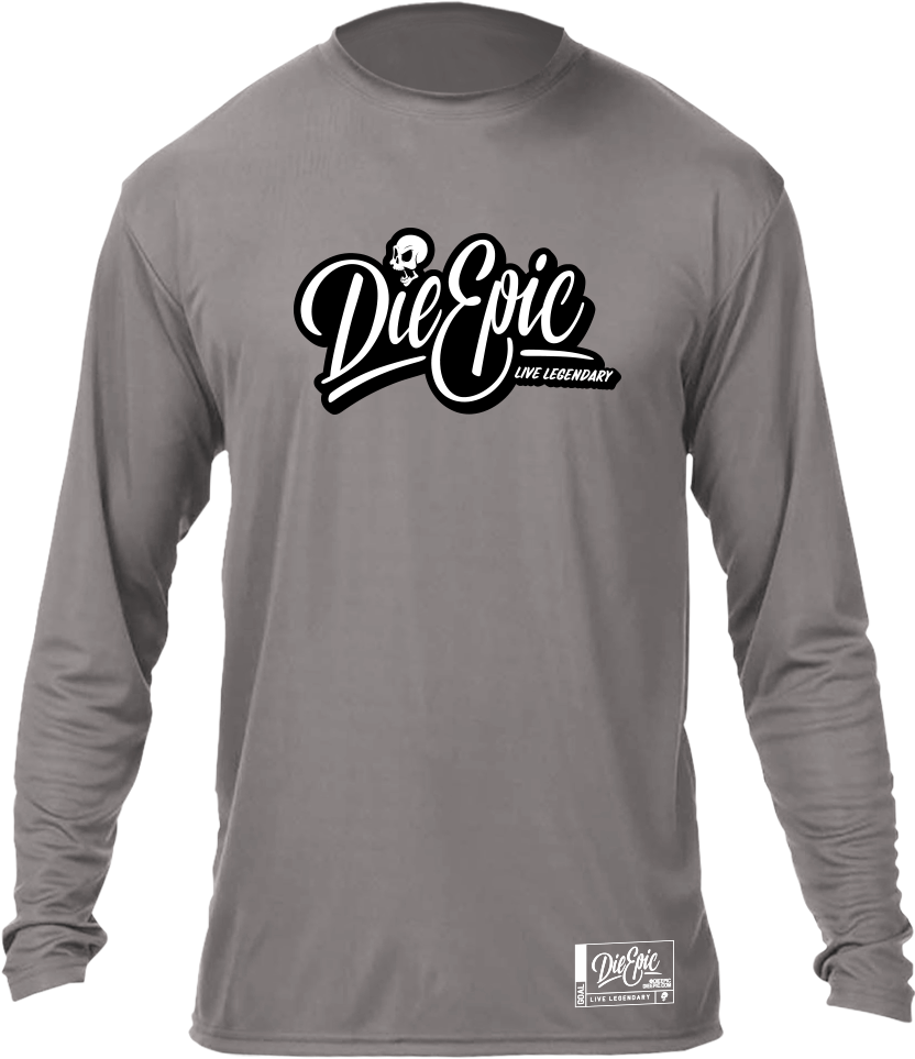 Epic Dark Grey Long Sleeve
