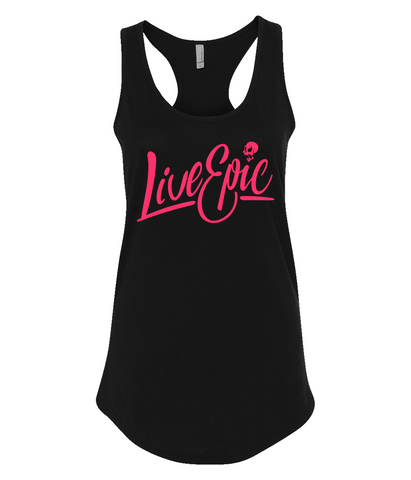 Image of Live Epic Ladies Racerback