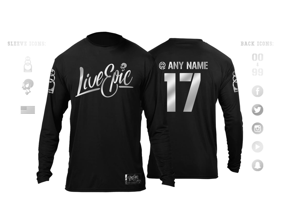 Personalized Live Epic Skydive Jersey