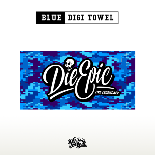 Epic Blue Digi Towel