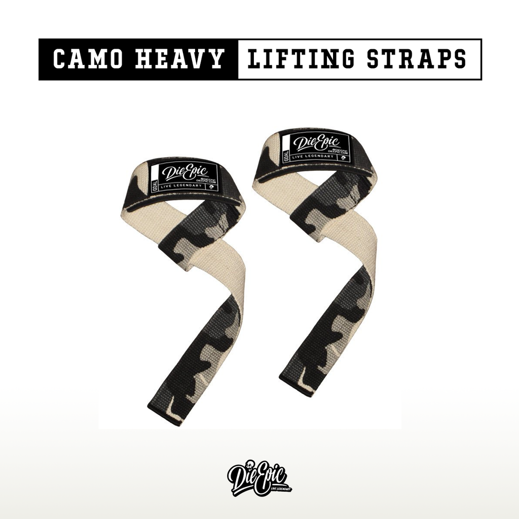 Epic Camo Heavy Lifting Straps