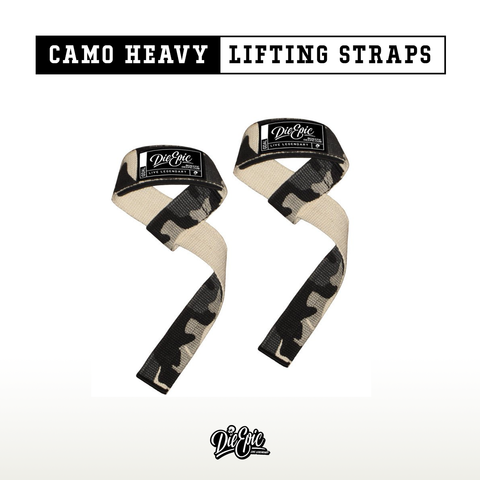 Image of Epic Camo Heavy Lifting Straps