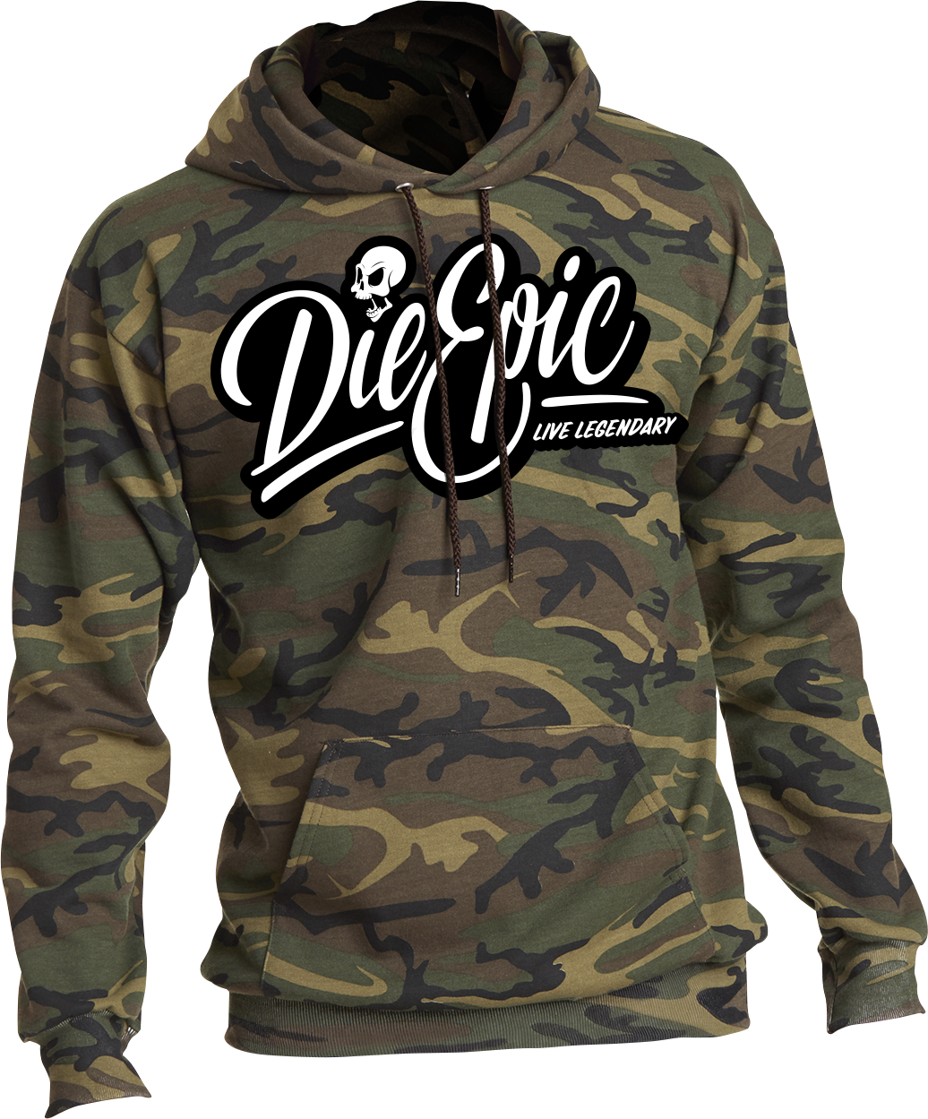 Sold Out - Epic Camo Hoodie