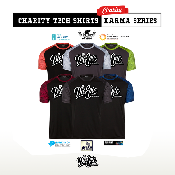 Charity Tech Shirts - Karma Series