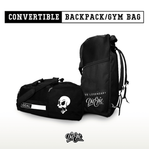 Die Epic Convertible Backpack/Gym Bag [preorder ships 11/18]