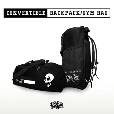 Epic Convertible Backpack/Gym Bag (Halloween)