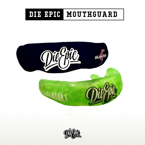 Die Epic Mouthguard  - As seen on BYB Extreme's BattleShip 1 Bare Knuckle Brawls