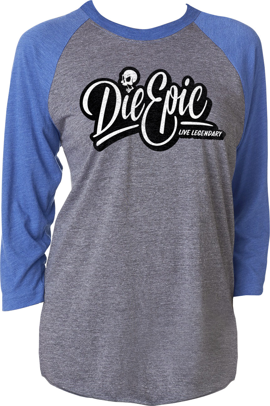 Epic Raglan - Baseball Shirt